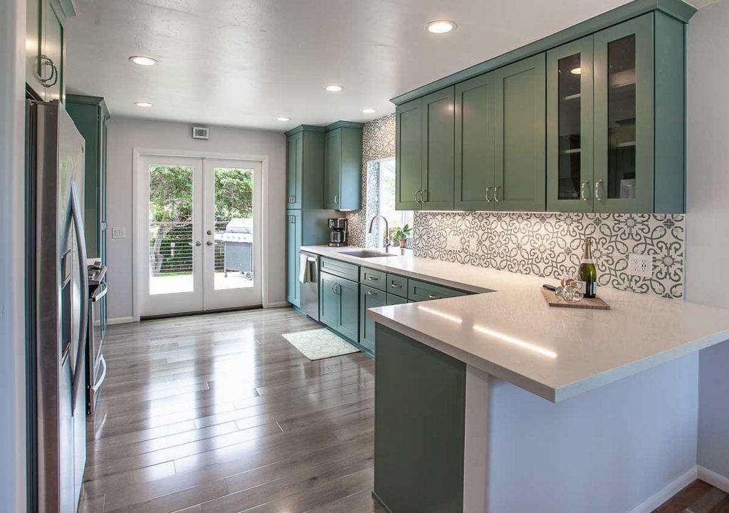 new kitchen in San Diego County