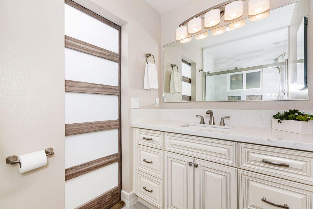 New bathroom space